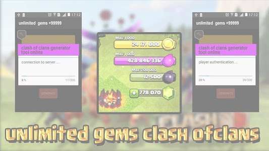 screenshot of Cheat For Clash Of Clans prank version 1.0.4