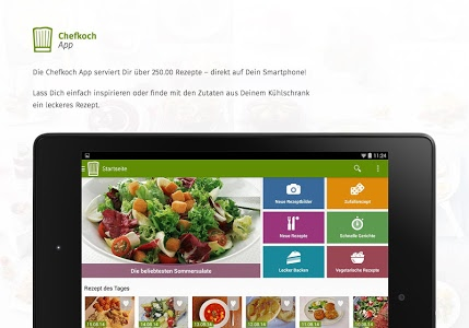 screenshot of Chefkoch - Rezepte & Kochen version Varies with device