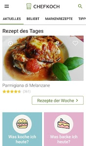 screenshot of Chefkoch - Rezepte & Kochen version 4.2.60