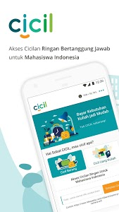 screenshot of CICIL - Cicilan Khusus Mahasiswa version 2.3.2 L