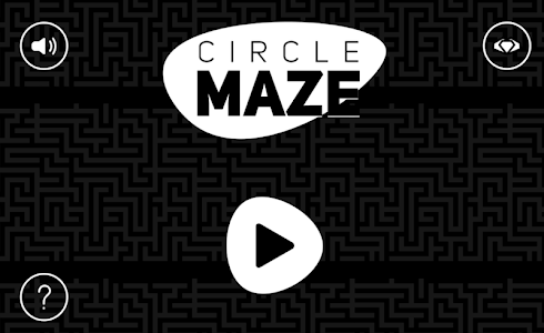 screenshot of Circle Maze version 1.0