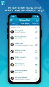 screenshot of CitizenChat - Connect, Chat, find Jobs, Internship version A_1.2.4