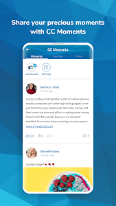 screenshot of CitizenChat - Connect jobs Chat Projects Business version P_1.4.7