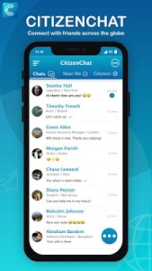 screenshot of CitizenChat - Connect, Chat, find Jobs, Internship version A_1.3.2