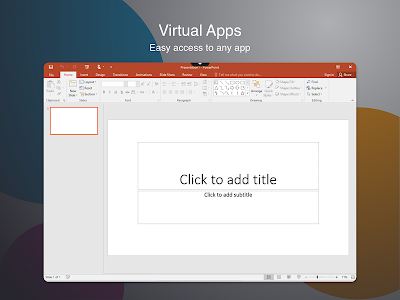 screenshot of Citrix Workspace version Varies with device