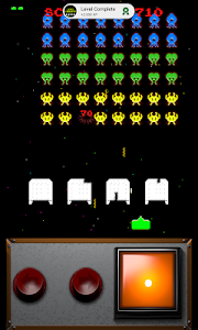 screenshot of Classic Space Invaders version 1.11