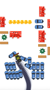 screenshot of Clean Road - Drift Through Snow And Clean version 1.0