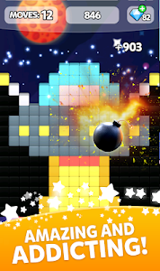 screenshot of Block Collapse! Puzzle Gallery version 1.155
