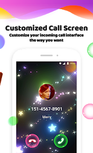 screenshot of Color Phone Flash - Call Screen Theme, LED version 1.2.1