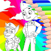 Download Coloring Book Paw for Kids Patrol 1.0 APK