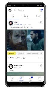 screenshot of Coub — GIFs with sound version 3.3.14