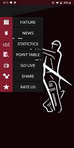 screenshot of CricLive - An Complete Cricket App version 1.3