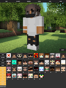 screenshot of Custom Skin Creator For Minecraft version 6.8