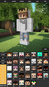 screenshot of Custom Skin Creator For Minecraft version 8.4