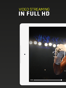 screenshot of DAZN version Varies with device