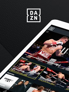 screenshot of DAZN Live Fight Sports: Boxing, MMA & More version Varies with device