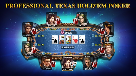screenshot of DH Texas Poker - Texas Hold'em version 2.8.1