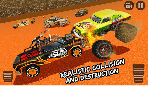 screenshot of Demolition Derby Car Crash Monster Truck Games version 1.0.1