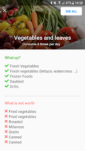 screenshot of Diet and Health - Lose Weight version 5.38.7