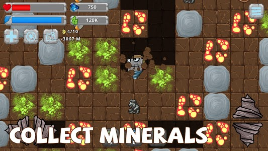 screenshot of Digger Machine: dig and find minerals version 2.5.7