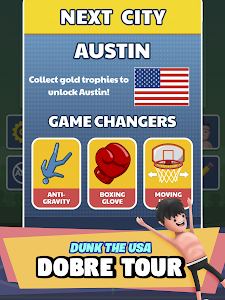 screenshot of Dobre Dunk version 1.0.5