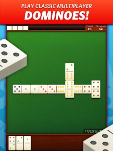 screenshot of Domino! The world's largest dominoes community version 3.3.13