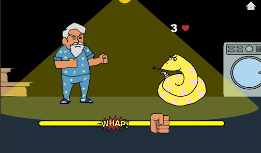 screenshot of Don't Mess with Pawpaw version 0.1