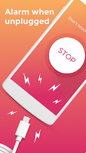 screenshot of Don't touch my phone: Motion alarm app version 1.4.13