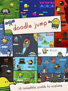 screenshot of Doodle Jump version Varies with device