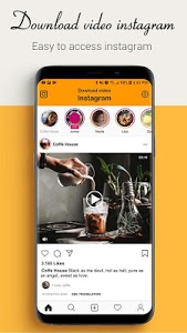 screenshot of Download video for Instagram users version 1.3.0