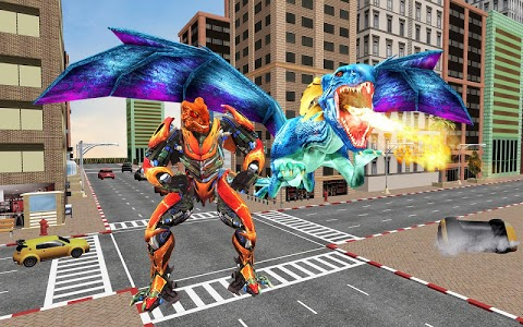 screenshot of Dragon Transform Robot version 1.0.23