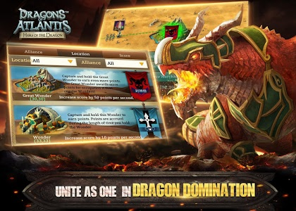 screenshot of Dragons of Atlantis version 8.1.0