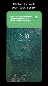 screenshot of EDGE MASK - Change to unique notification design version 2.26