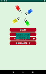 screenshot of Easy Colors Match version 1.1