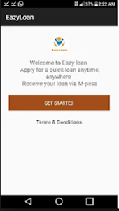 screenshot of Eazy Loans version 1.0