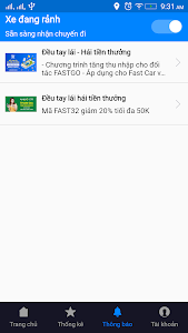 screenshot of FastGo.mobi Partner version 1.2.20191123.1109