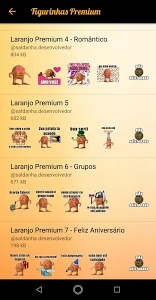 screenshot of Figurinhas Laranjo para WhatsApp - WAStickerapps version 3.8