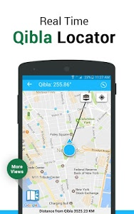 screenshot of Qibla Connect® Find Direction version 4.3