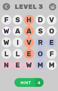 screenshot of Find The Word version 1.2.9z