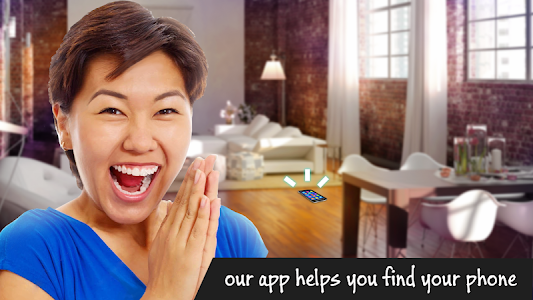 screenshot of Find my phone by clapping version 1.2