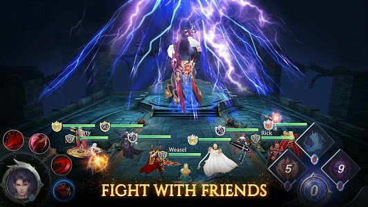 screenshot of Fire Heroes: Bring the war to the summoners world version 1.0