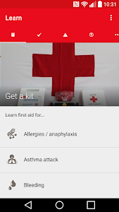 screenshot of First Aid - IFRC version 3.2.0