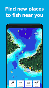 screenshot of Fishbrain - local fishing map and forecast app version Varies with device