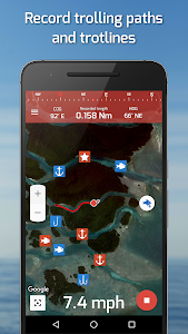 screenshot of Fishing Points: GPS, Tides & Fishing Forecast version 2.8.3
