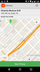 screenshot of Fleet by Postmates version 1.1.2