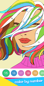screenshot of Flow - Paint by Numbers version 0.7.4