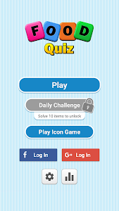 screenshot of Food Quiz version 4.0.1
