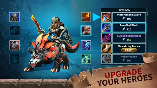 screenshot of Forge of Glory: Match3 MMORPG & Action Puzzle Game version 1.6.11