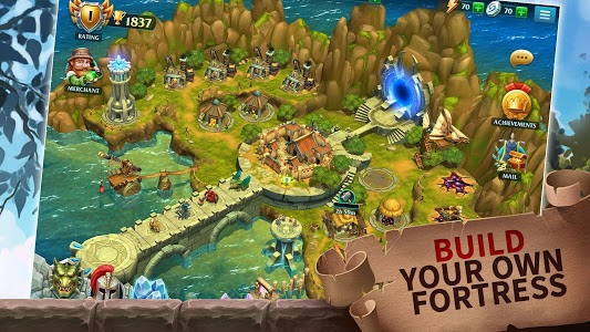 screenshot of Forge of Glory: Match3 MMORPG & Action Puzzle Game version 1.6.9