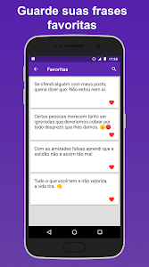 screenshot of Frases de Indiretas version 1.5.0